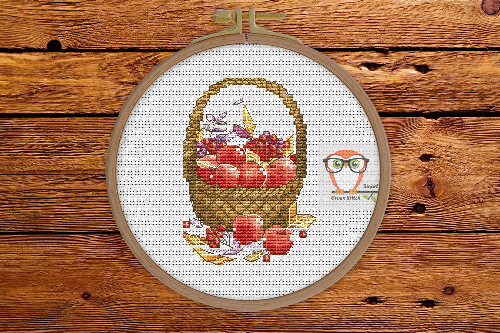 Basket of apples - Autumn Sampler