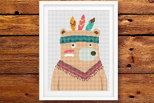 Bear 2 - Tribal Animals