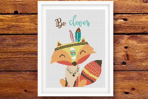Fox Be Clever - Tribal Animals