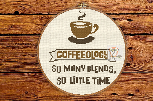 Coffee Quote #1 So many blends so little time