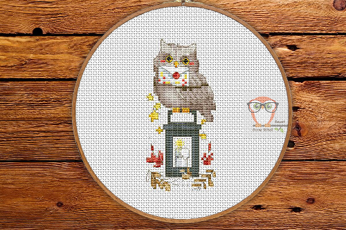 Xmas Owl - Winter Sampler