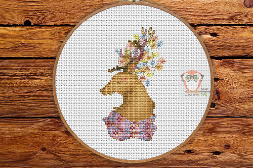 Xmas Deer - Winter Sampler