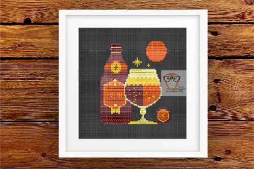 Ale Beer cross stitch pattern