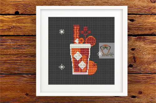 Mulled wine #1cross stitch pattern